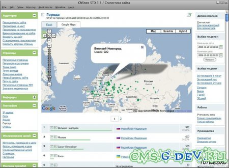 CNStats STD 4.2 Rus Nulled + GeoIP