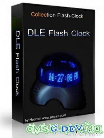 ������ DLE Flash Clock + ��� 150 ���� �����