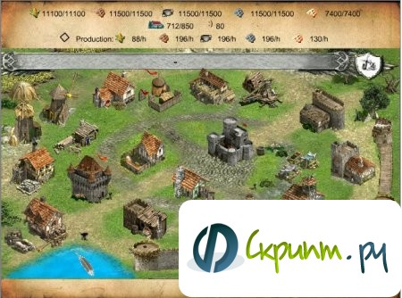 Движок игры Devana Full MMO Gamev
