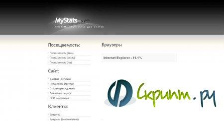 система статистики MyStats