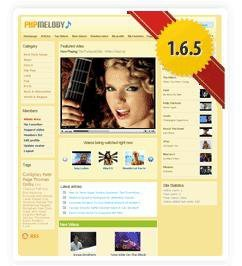 PHP Melody 1.6.6 Full Nulled рабочий