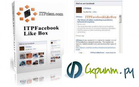 ITPFacebookLikeBox V1.2