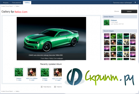 IP.Gallery 4.1.1 Nulled (для IPB 3.2.2)
