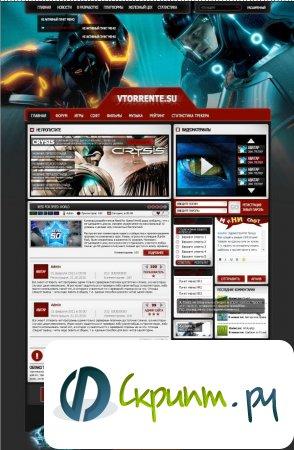 Два PSD макета игровой тематики