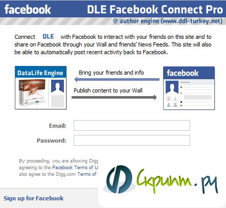 DLE Facebook Connect Pro BETA