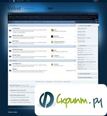 Velvet IPB 3.2.3