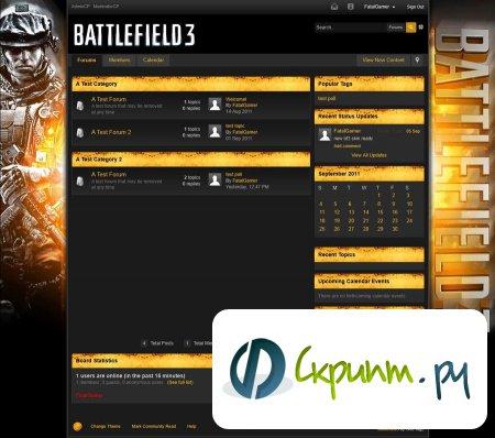 BattleField 3 для IPB 3.2.x
