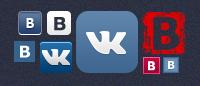 Иконки ВКонтакте для сайта