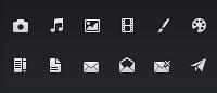 16x16 иконки PSD mini