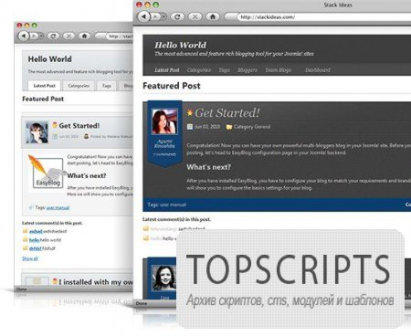 EasyBlog v3.0.8593 RUS