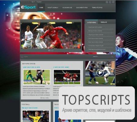 Шаблон VT Sport для Joomla 1.5/2.5