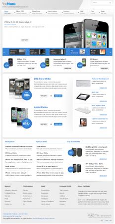 Шаблон интернет-магазина YouMania для Joomla