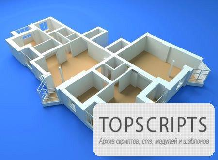 3D макеты строений в фотостоке