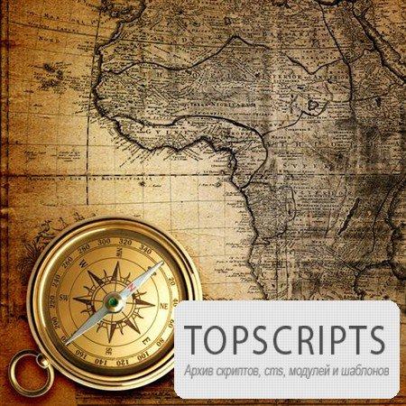 Картинки старых морских карт