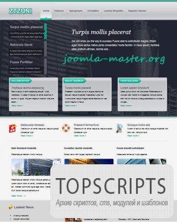 Шаблон ZT Zuni для Joomla