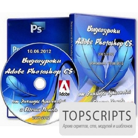 Видеоуроки Adobe Photoshop CS3 [ 2007-2012, SWF ]