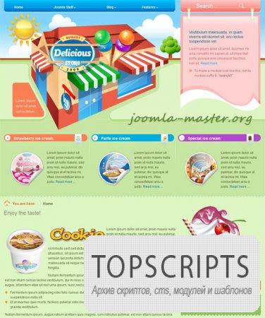 Шаблон BT Delicious для Joomla