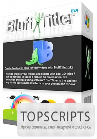 BluffTitler DX9 iTV v8.6.1.0 Final + Portable
