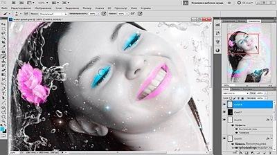 Видеокурс Photoshop Оформление фото с девушкой