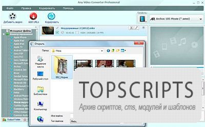 Any Video Converter Professional 3.5.8 Rus