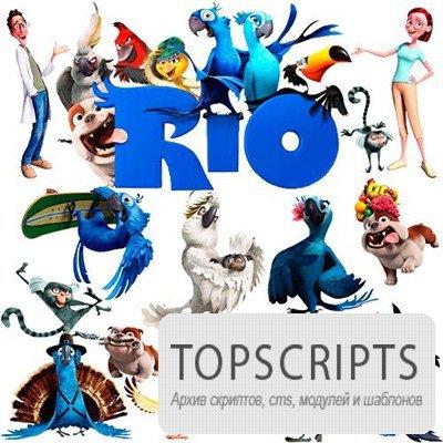 Photoshop клипарт RIO (Рио)