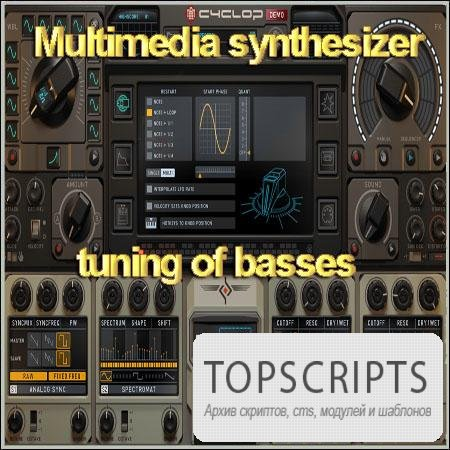 Multimedia synthesizer tuning of basses