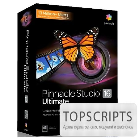 Pinnacle Studio 16 Ultimate ( 16.1.0.115, Final, Mul / Rus )