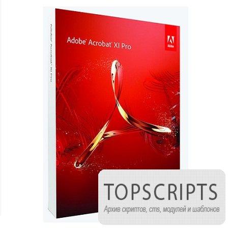 Adobe Acrobat XI Pro ( v.11.0.5, Multi / Rus )