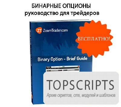 Пособие - Бинарные опционы -Руководство для трейдеров